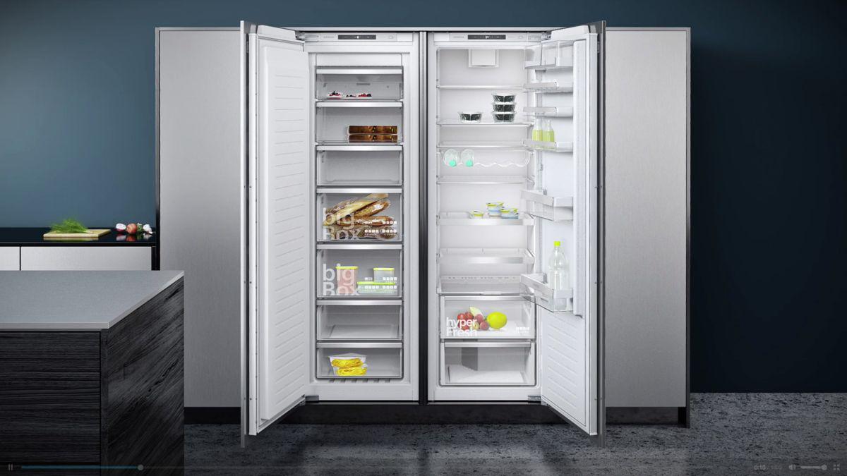 Siemens Kühlschrank Mit Gefrierfach Einbau : Modularfit von siemens ihr küchenfachhändler aus geilenkirchen