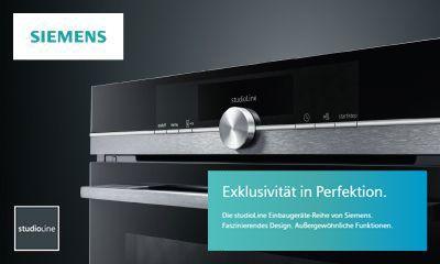 Siemens: StudioLine BlackSteel